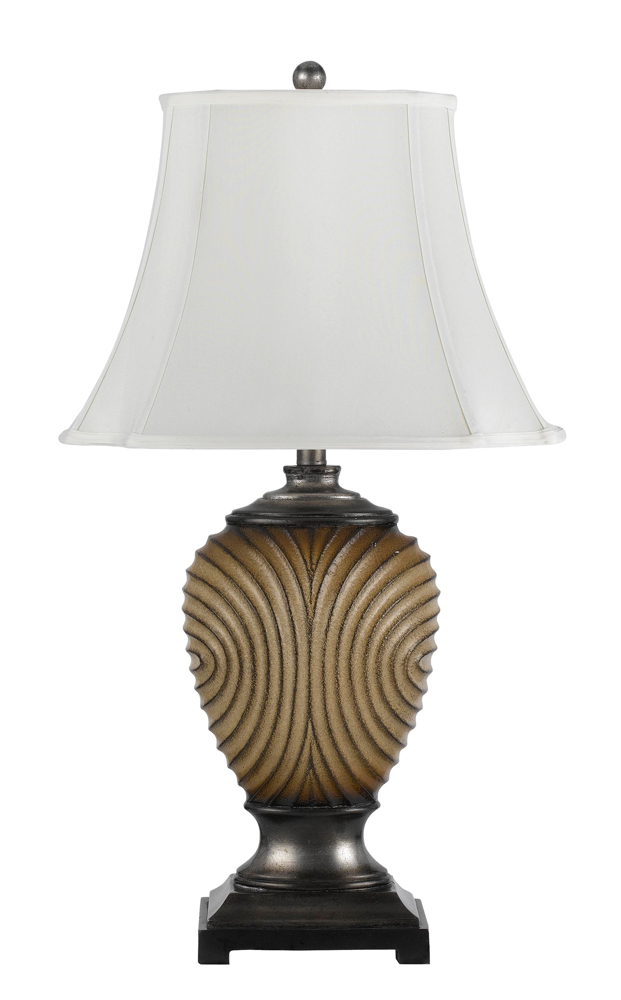 150w 3 way weston resin table lamp shown in ceramic by cal lighting. Black Bedroom Furniture Sets. Home Design Ideas