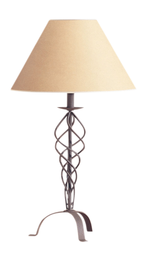 150w 3 way wrought iron table lamp shown in rust by cal for 150 w table lamp