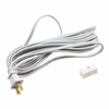 Jesco Lighting (LCS2) 15 Feet Line Cord with 2-Prong Plug and Switch