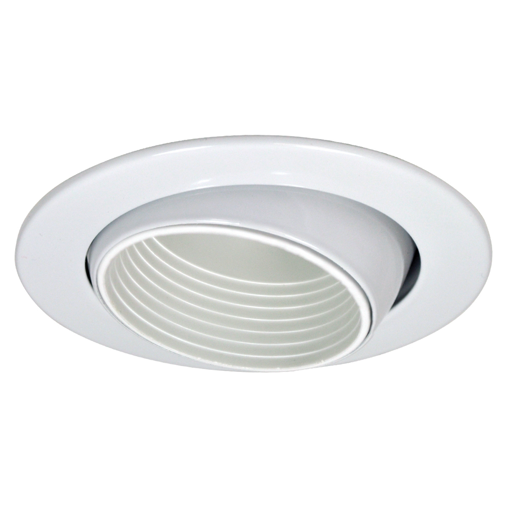 3 inch recessed trim eyeball with baffle by nora lighting Recessed lighting trim
