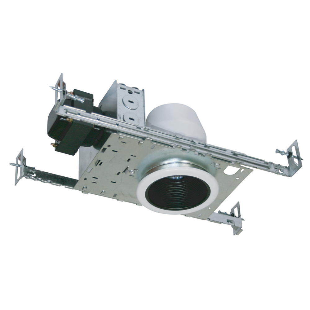 Jesco Lighting (LV3001B) 3 Inch Low Voltage Non-IC Housing for New Construction