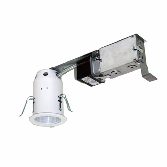 Jesco Lighting (LV3001R) 3 Inch Low Voltage Non-IC Housing for Remodel