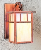 Arroyo Craftsman (HB-4L) Hand-Crafted 4 Inch Huntington Wall Mount