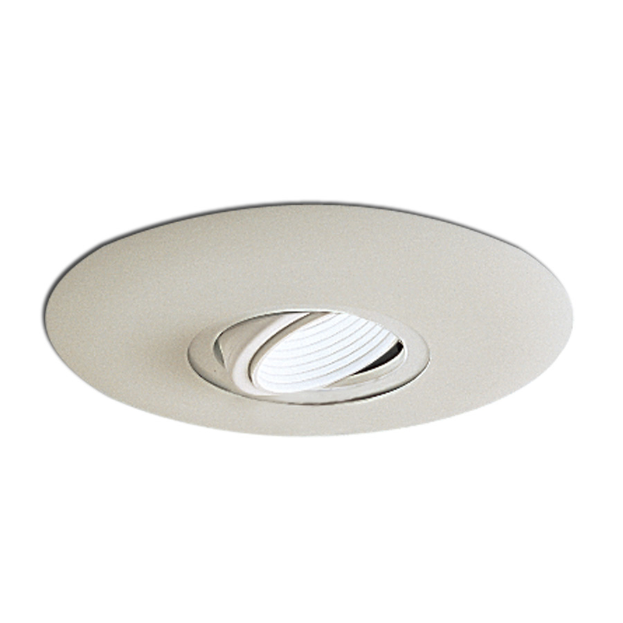 6 inch recessed trim surface adjustable gimbal with baffle Recessed lighting trim