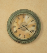 Arroyo Craftsman (C140-E) Hand-Crafted 9-3/4 Inch Diameter Pasadena Clock without Medallion (Empty)
