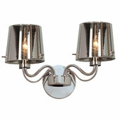 Access Lighting (55531) Milano 2-Light Wall Sconce shown in Chrome