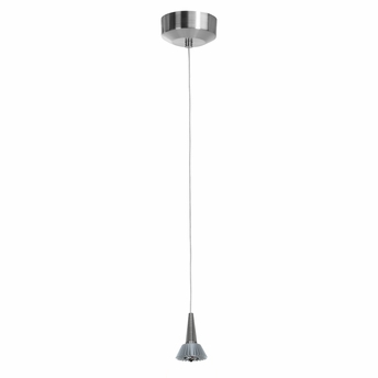 Access Lighting (70012LED) Tungsten LED Mini-Pendant shown in Brushed Steel