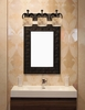 Justice Design (ALR-8583) Heritage 3-Light Bath Bar from the Alabaster Rocks! Collection