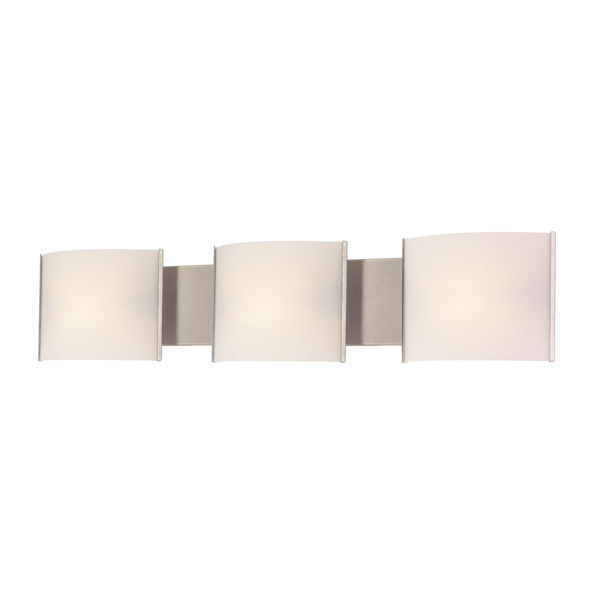 Vanity Led Fixtures : Alico Lighting (BVL713-10-16M) Pannelli LED 3 Light Vanity Fixture in Satin Nickel