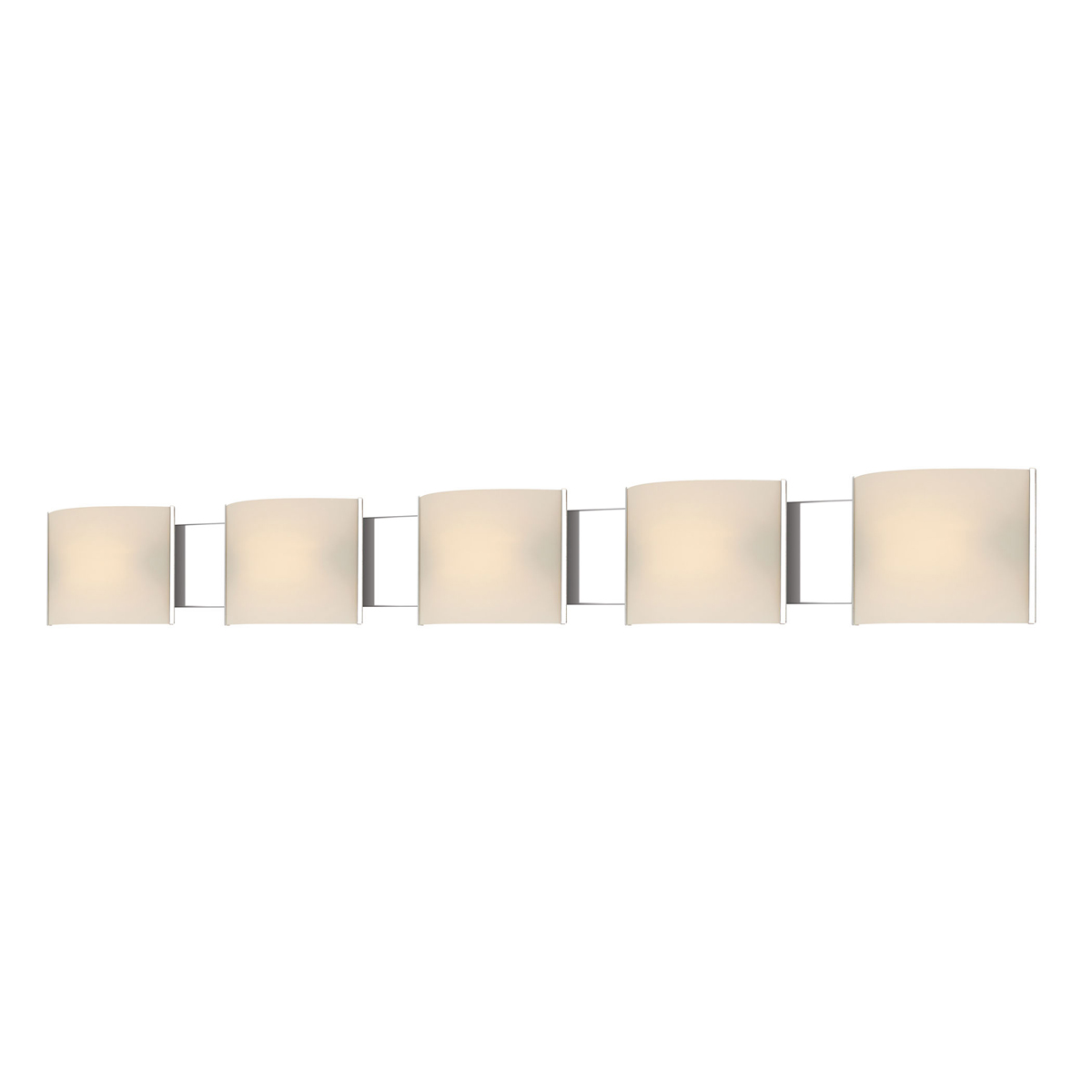 Alico Lighting (BVL715-10-15) Pannelli LED 5 Light Vanity Fixture in Chrome
