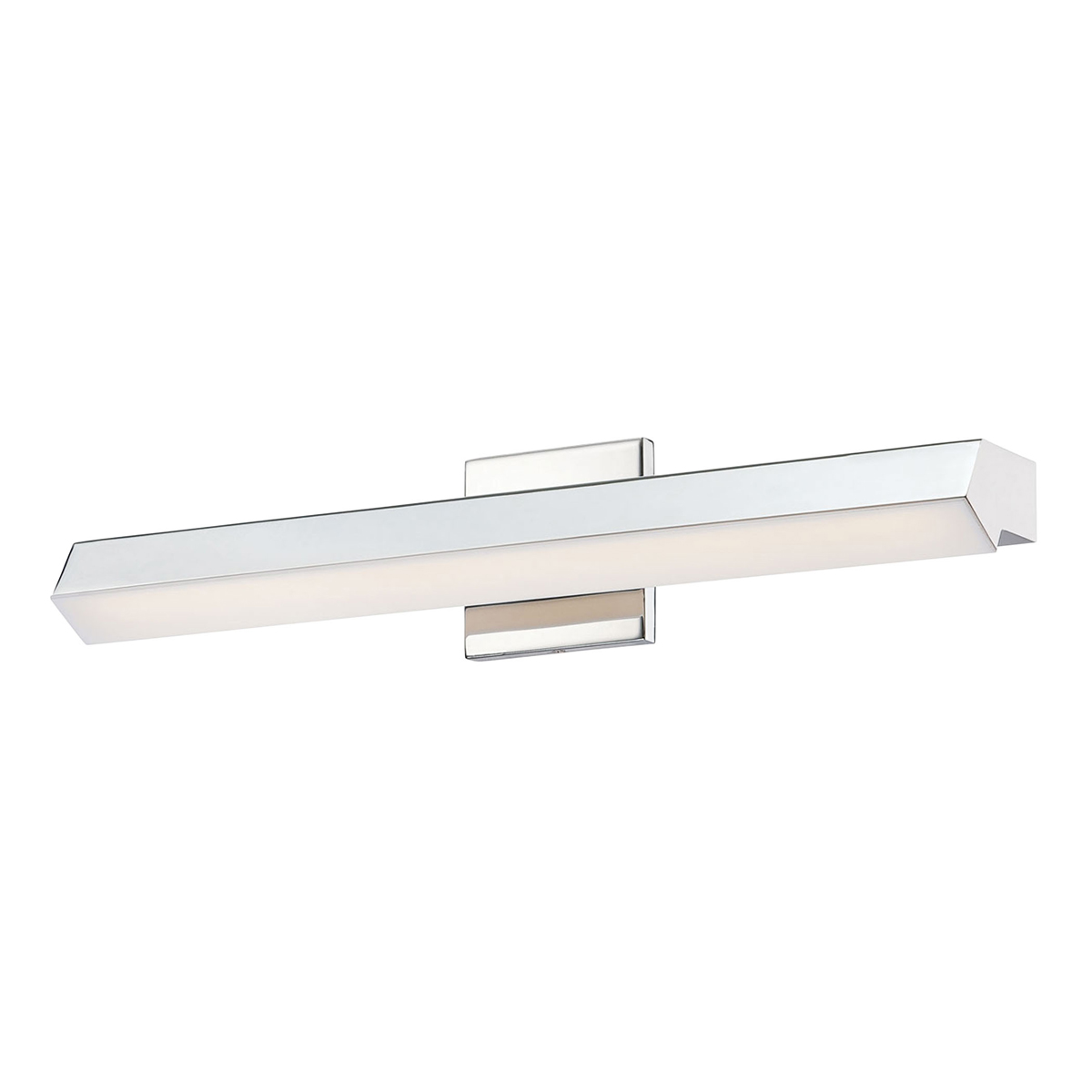 Vanity Led Fixtures : Alico Lighting (WSL100-10-15) Yarmouth 1 Light LED Vanity Fixture in Chrome