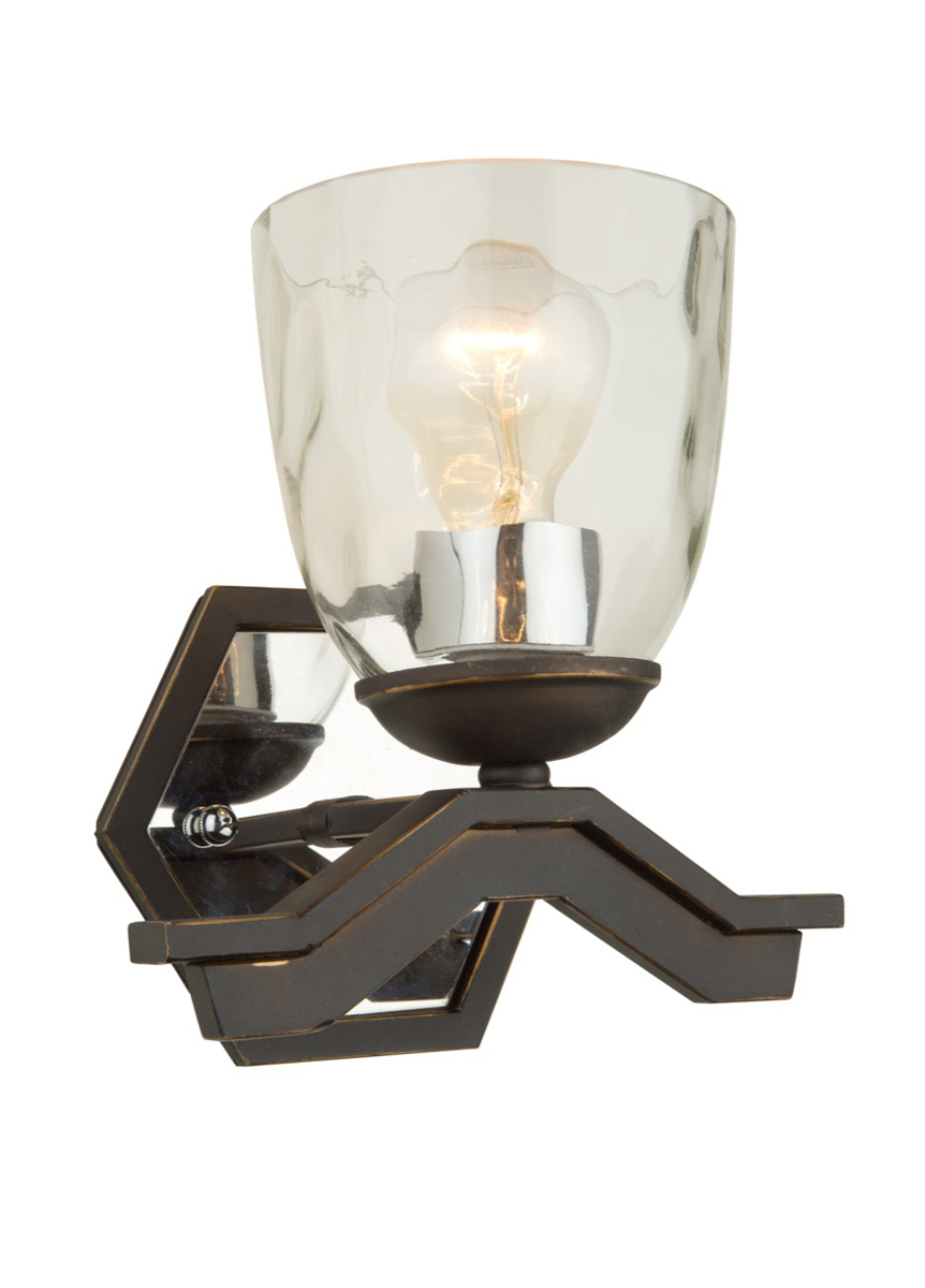 Wall Hugger Lamps : Artcraft Lighting (AC10227) Kent 1 Light Wall Sconce