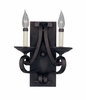 Designers Fountain (9032-NI) Barcelona 2 Light Wall Sconce in Natural Iron