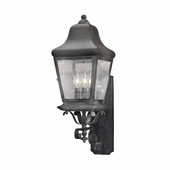 Artistic Lighting (5311-C) Outdoor Wall Lantern Belmont Collection in Charcoal Finish