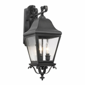 Artistic Lighting (5312-C) Outdoor Wall Lantern Belmont Collection in Charcoal Finish