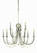 Candice Olson Collection (7702-9H) Shelby 9 Light Chandelier by AF Lighting
