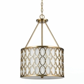 Candice Olson Collection (8103-3H) Cosmo 3 Light Pendant by AF Lighting