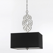 Candice Olson Collection (8421-4H) Grill 4 Light Pendant by AF Lighting