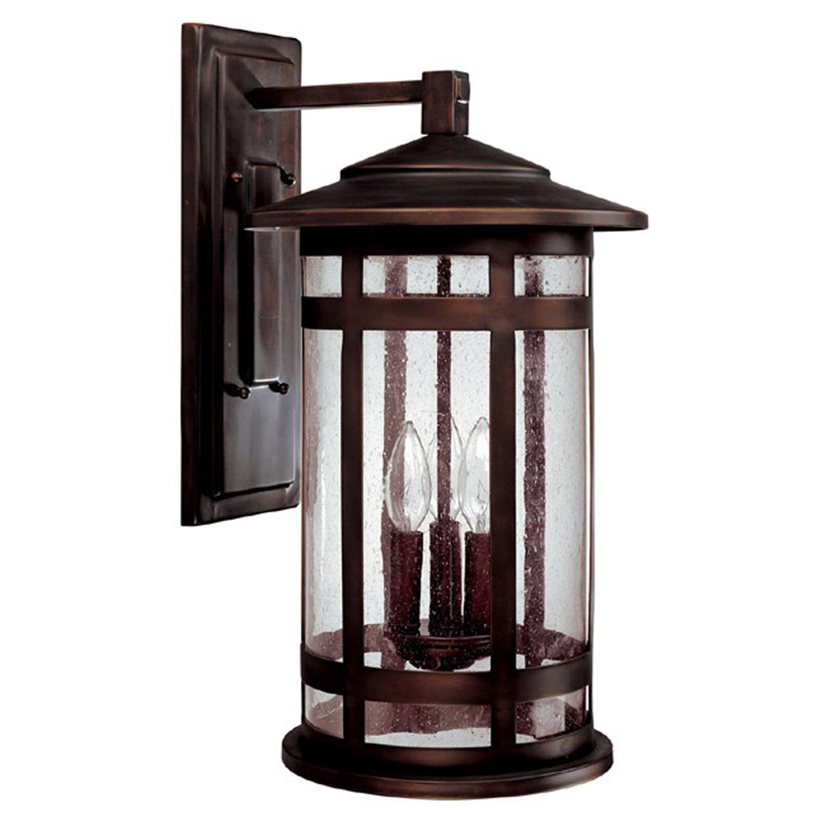 Capital Lighting (9953) Mission Hills 3 Light Outdoor Wall Fixture