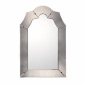 Capital Lighting (M452981) Bronze with Gold Dust and Antiqued Mirror Frame with Beveled Mirror