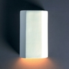 Justice Design (CER-5500W) Outdoor ADA Cylinder Wall Sconce from the Ambiance Collection