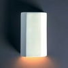 Justice Design (CER-5500) ADA Cylinder Wall Sconce from the Ambiance Collection