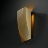 Justice Design (CER-5135) ADA Rectangle Wall Sconce from the Ambiance Collection