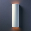 Justice Design (CER-5405) ADA Tube Wall Sconce from the Ambiance Collection