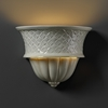 Justice Design (CER-1485) Capri Wall Sconce from the Ambiance Collection