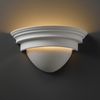 Justice Design (CER-1005) Classic Wall Sconce from the Ambiance Collection