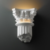 Justice Design (CER-4700) Corinthian Column Wall Sconce from the Ambiance Collection