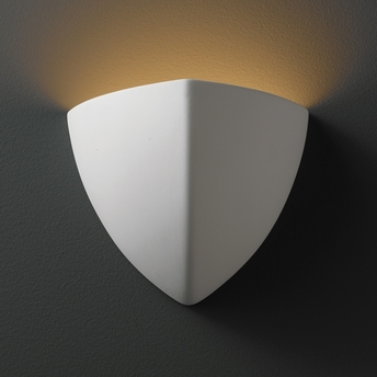 Justice Design (CER-1800) Small Ambis Wall Sconce from the Ambiance Collection