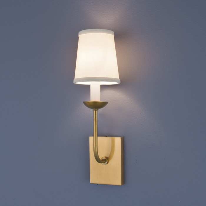 Circa 1 Light Wall Sconce In Aged Brass Finish By Norwell Lighting 8141 Ag Ws