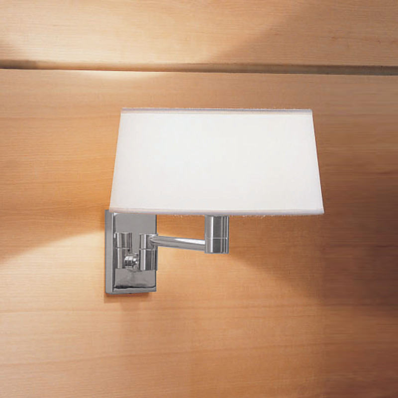 Zaneen Contemporary Classic Wall Sconce (Pin-Up Adaptable) In Chrome Made In Italy - D8-3048