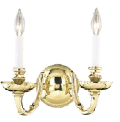 Clearance -Nulco Lighting 2 Light Sheraton Wall Sconce - 1752-09 - Lighting Fixtures, Lights ...
