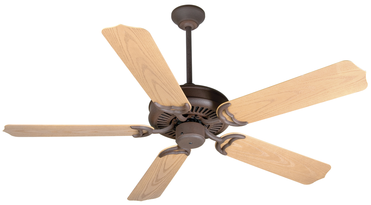 craftmade k10737 porch fan ceiling fan kit in rustic