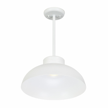 CSL Lighting (SS2015-SHDC) Entity Deep Bowl Shade Accessory shown in White