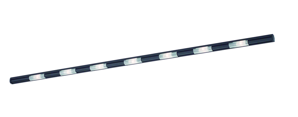 Xenon String Lights : Abeo 46 Inch 7 Light Xenon Under Counter shown in Black by CSL Lighting - Item XE-46