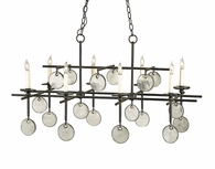 Currey & Company (9124) Sethos Rectangular Chandelier
