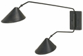 Currey & Company Swing Arm Wall Lamps