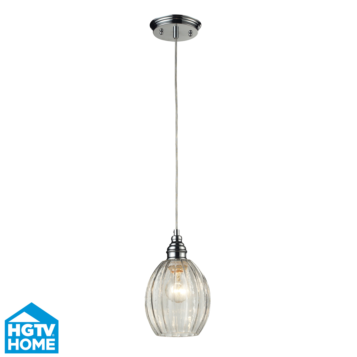 ELK Lighting (46017/1) Danica 6 Inch Mini-Pendant