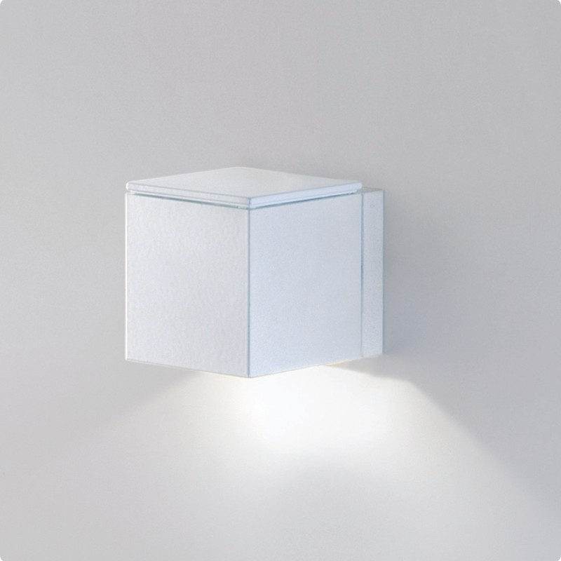 Architectural Led Wall Sconces : Zaneen Architectural Dau-Led Wall Sconce In White Made In Spain - D9-3133
