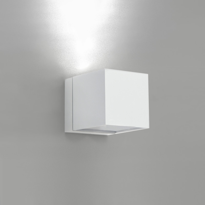 Modern White Wall Sconces : Zaneen Modern Dau Wall Sconce In White Made In Spain - D9-3083