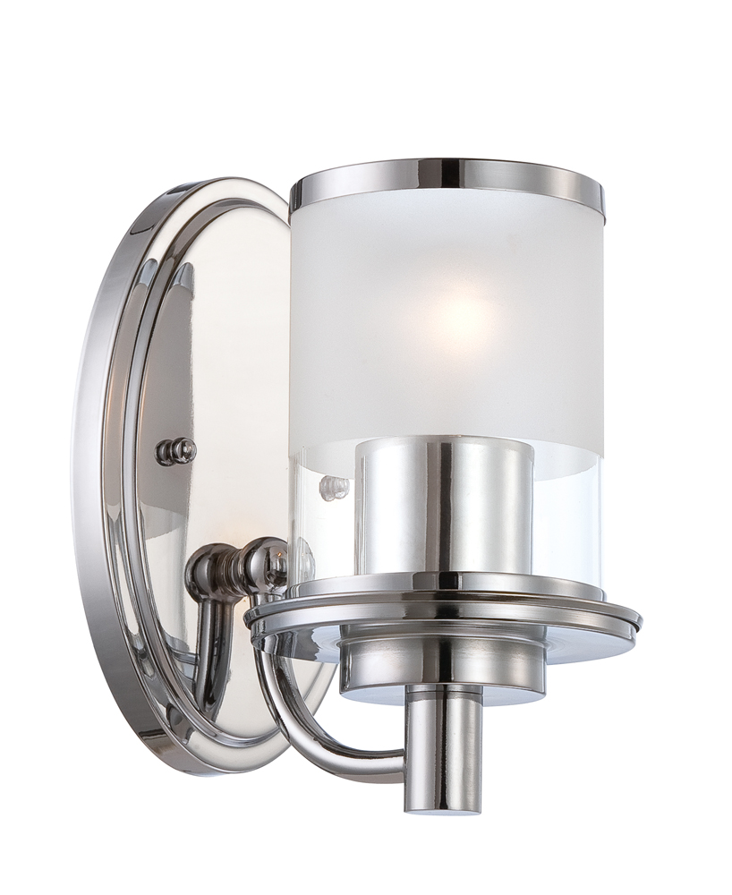 Wall Lamps Chrome : Designers Fountain (6691-CH) Essence Wall Sconce in Chrome