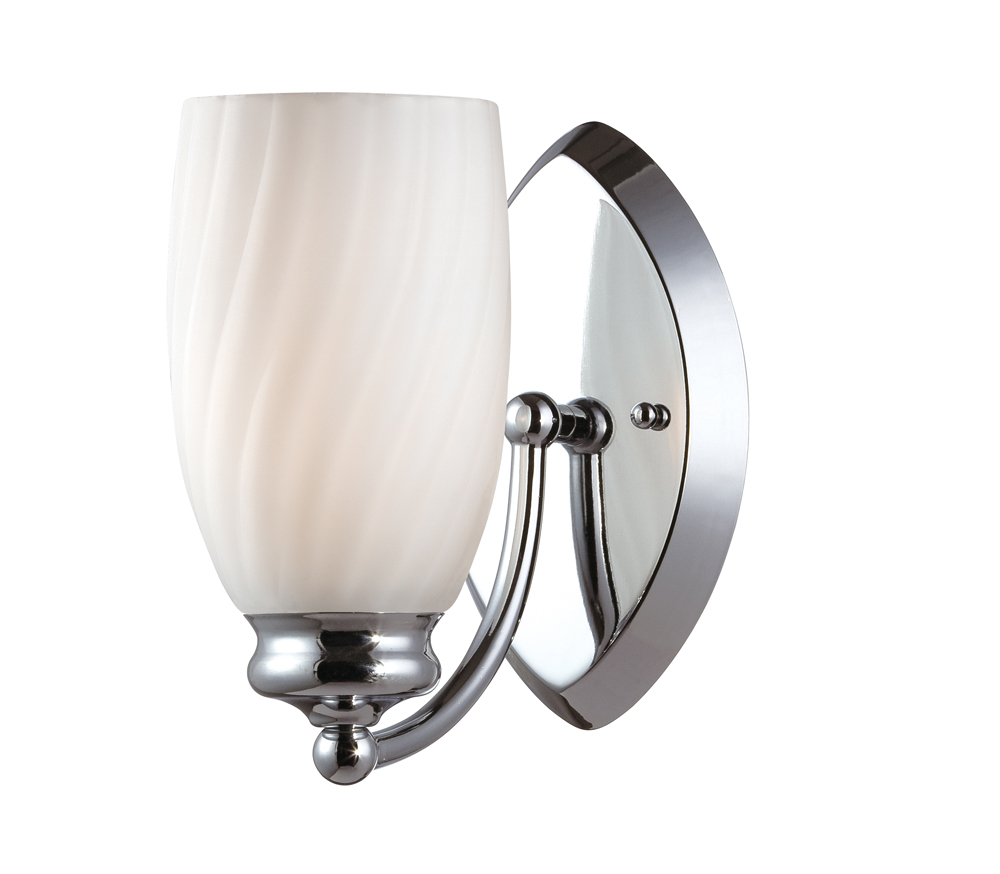 Wall Sconces Chrome : Designers Fountain (6701-CH) Belize Wall Sconce in Chrome