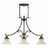 Murray Feiss (F2218) Drawing Room 3 Light Island Chandelier
