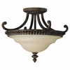 Murray Feiss (SF239) Drawing Room 17-1/4 Inch Semi-Flush Mount