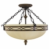 Murray Feiss (SF221) Drawing Room 22-1/2 Inch Semi-Flush Mount