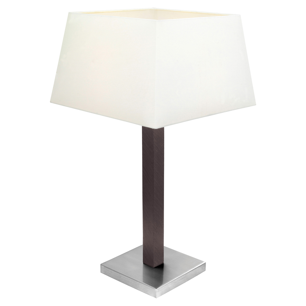 eglo lighting 90456a raina collection 1 x 100w table lamp