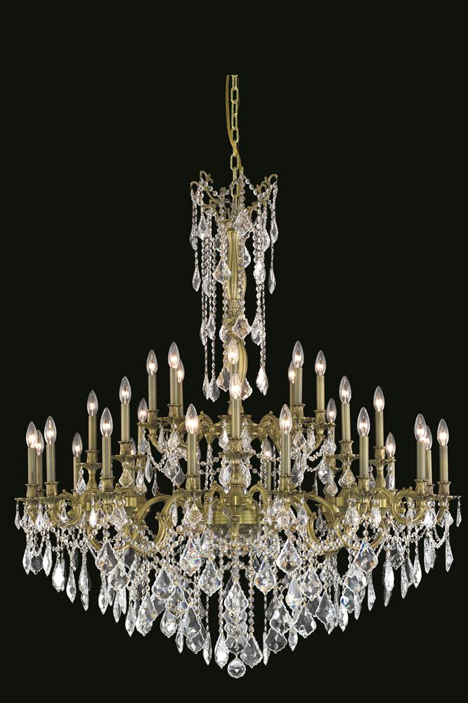 Elegant Foyer Chandeliers : Elegant lighting g rosalia light inch foyer